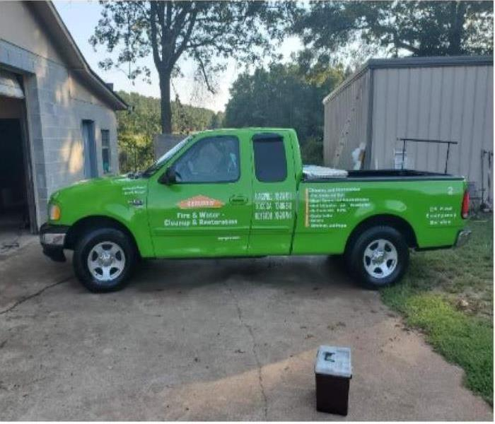 SERVPRO Ford F-150 after wash, wax and detailing