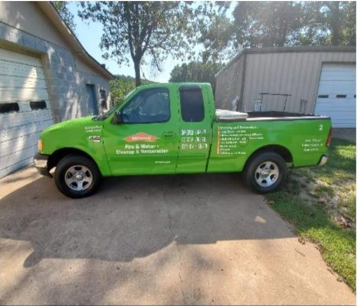 SERVPRO Ford F-150 before wash, wax and detailing