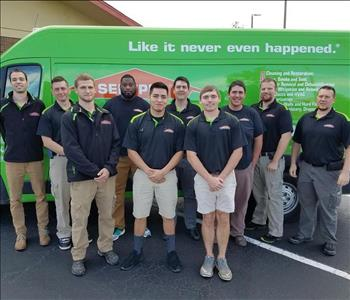 Our Water Damage Team in 2017