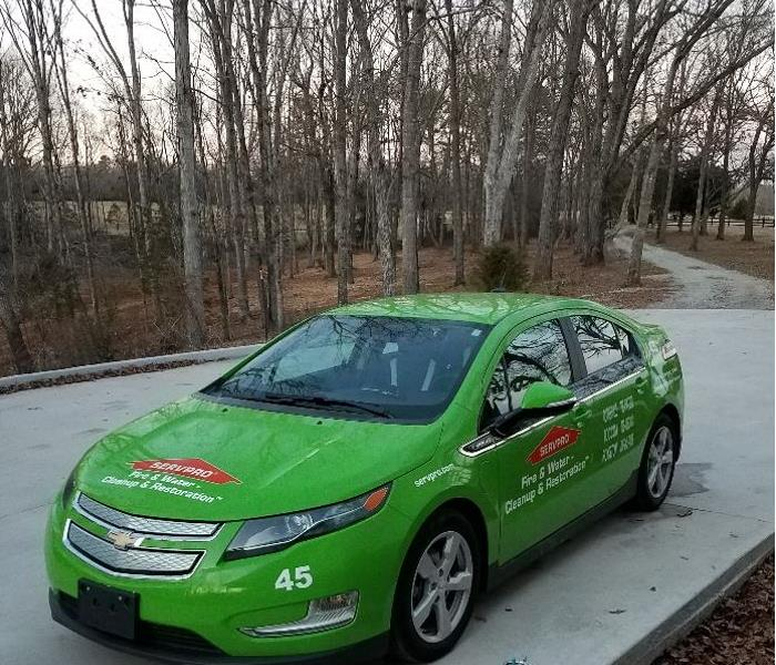 General SERVPRO goes GREEN!